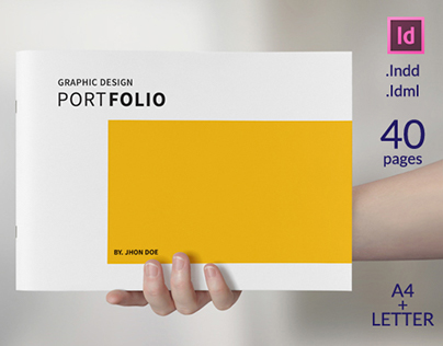 Graphic designer portfolio template image collections for Graphic designer portfolio template free download