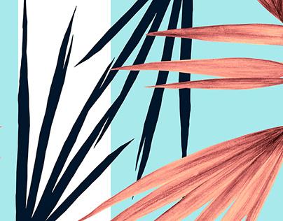 ESTAMPA | Tropical Stripes