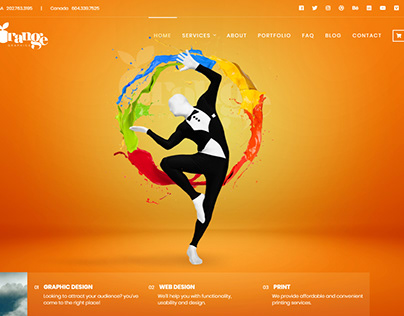 Our New Website Interface