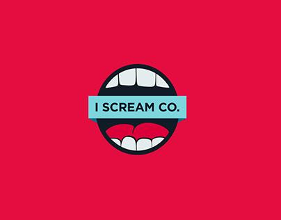 I Scream Co. Identity