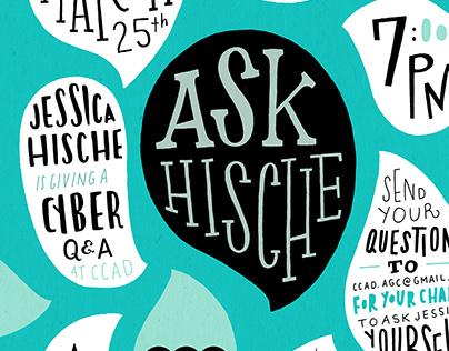 Ask Hische: Event Poster
