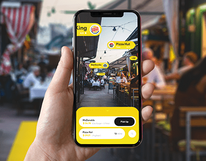 Foodcode Augmented Reality App