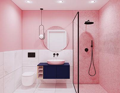 Łazienka W Różu