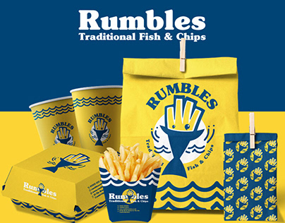 Rumbles Traditional Fish & Chips - BRANDING