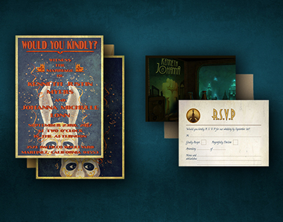 Bioshock Wedding Invitations