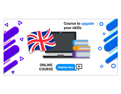 English courses banner