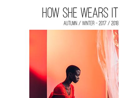 (Mock)  TOBE REPORT: How She Wears It - A/W 17/18