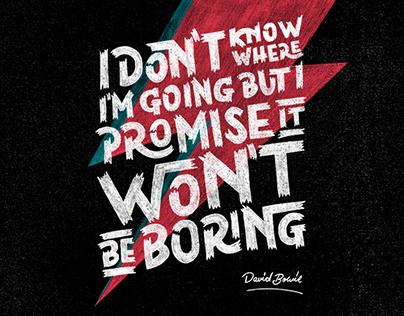 David Bowie Detication