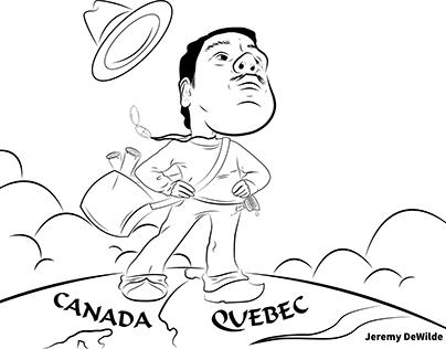 Caricature - Jeremy Dewilde