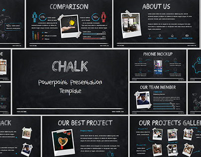 Chalk - PowerPoint Presentation Template