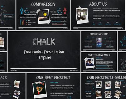 Chalk - PowerPoint Presentation Template