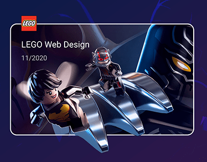 LEGO WEB DESIGN Mobile First | Интернет-магзин Lego