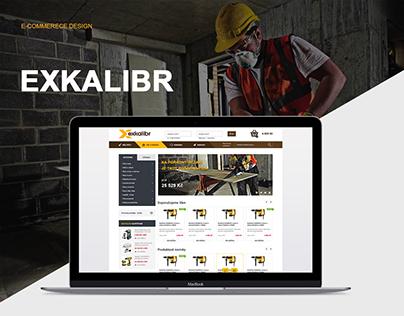 Exkalibr - e-commerce