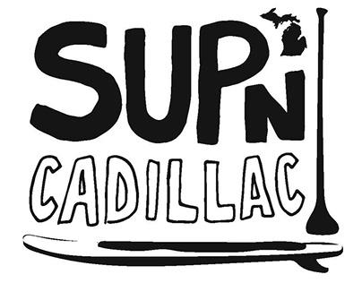 SUP'n Cadillac Logo