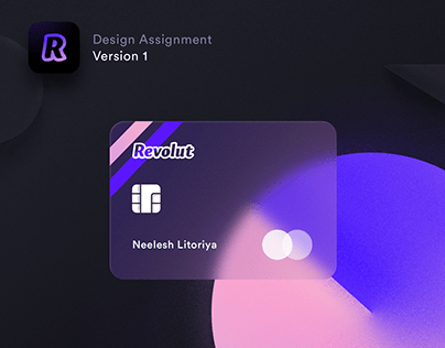 Revolut Design Assignment Version 1