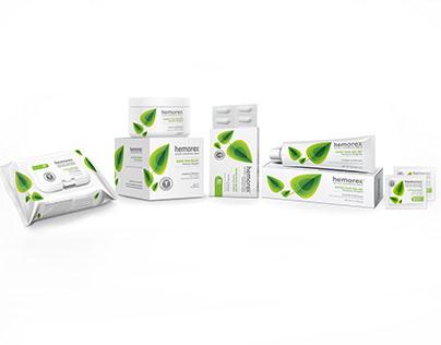 Hemorex Natural Hemorrhoid Brand