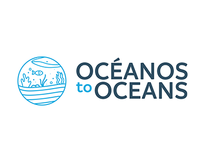 OCÉANOS TO OCEANS · LOGOTIPO