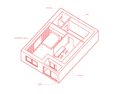 Small apartment for young couple