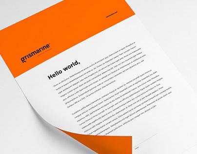 Branding Grismarine agency Paris