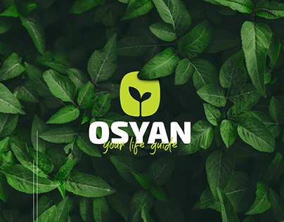 Osyan foodfit brand logo design and identity