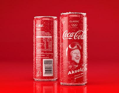 Coca Cola Norwegian Alpine Team campaign 3D session