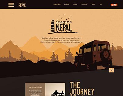 Website for Imagine Nepal