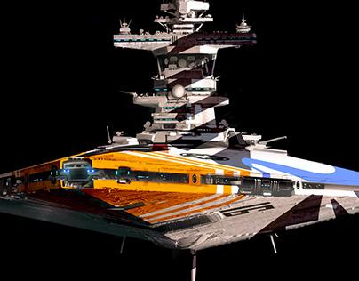 Star Wars - Star Destroyer re-design.