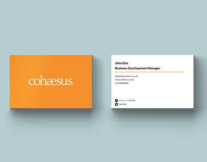 Cohaesus Branding Distribution