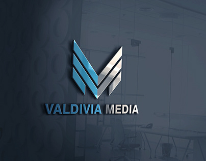 Valdivia Media Logo Design