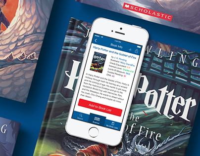 Book Wizard Mobile for Scholastic Inc.