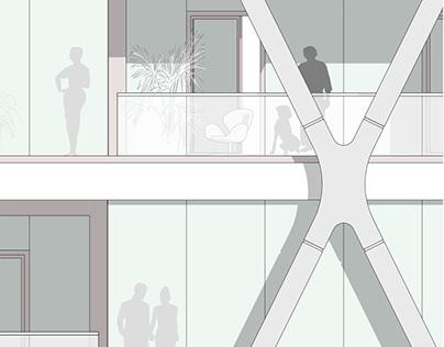 Conceptual study of a flexible high-rise