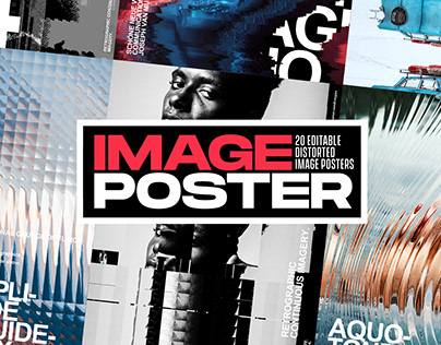 DISTORTED IMAGE POSTERS