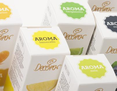 Decora packaging aromi alimentari