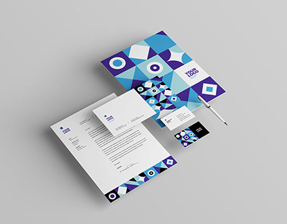 Cool Colorful Pattern Stationery