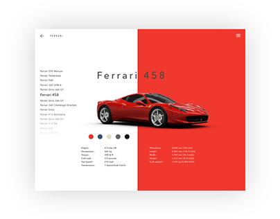Ferrari 458 Concept