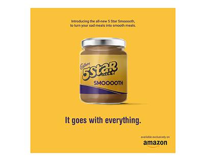 Cadbury 5 Star Spread - Digital Advertising Campaign