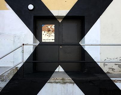 Halle X 3D-Illusion