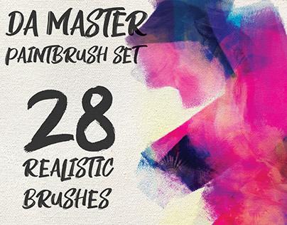 Digital Abstract Master Paintbrush Set