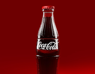 3D Coca Cola