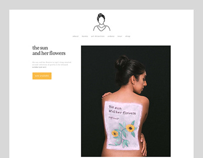 Rupi Kaur website