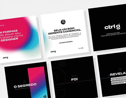 CTRL G - Branding
