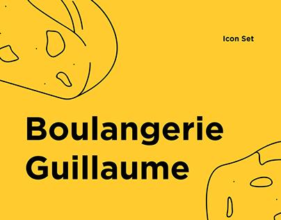 Boulangerie Guillaume - Icon Set
