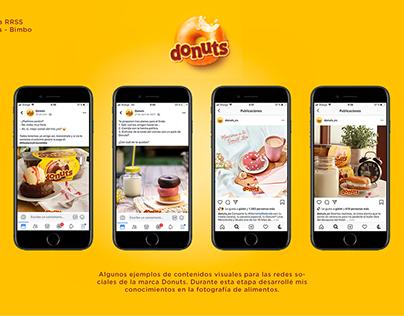 Social Media - Donuts
