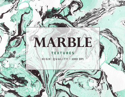 Marble and watercolor textures