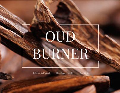 Internship Project - Oud Burner