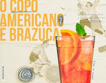 Aperol Spritz | Copo Brazuca