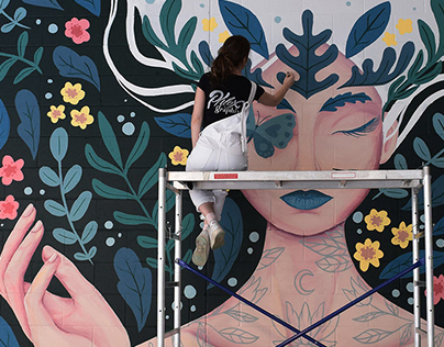 Nymph mural project
