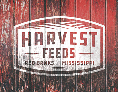 Harvest Feeds Sign