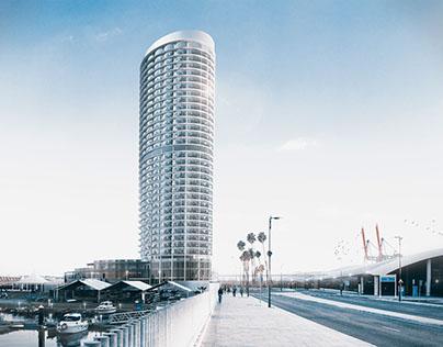 Harbor Skyscraper Hotel