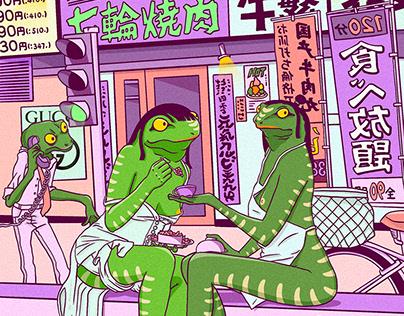 蛙人街道系列